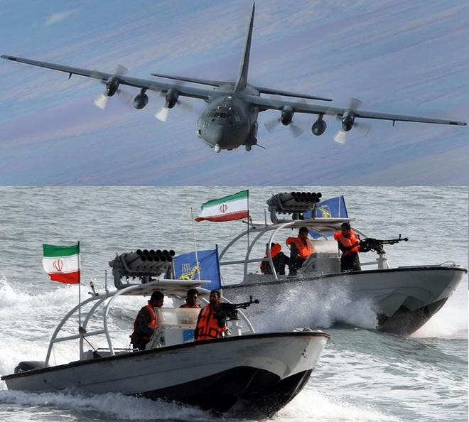 Iran đừng mơ đóng cửa eo biển Hormuz: QĐ Mỹ đã có cách quét sạch tàu cao tốc vũ trang? - Ảnh 1.