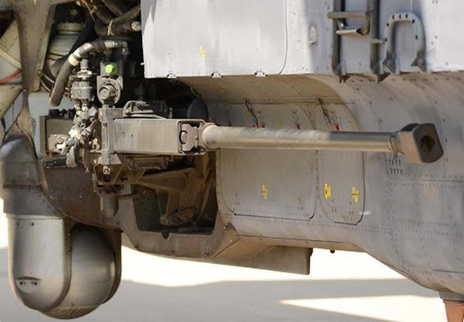 Khẩu pháo 30mm trên Mi-28 xé nát xe bọc thép phiến quân Syria - Ảnh 7.