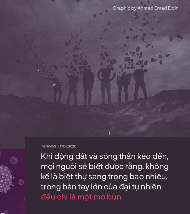 Virus chỉ là 1 sứ giả đáng sợ cảnh báo sự vô cảm và đoạn kết của loài người - Ảnh 4.