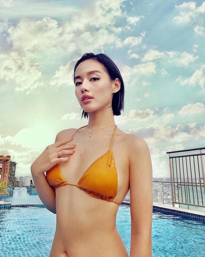 Loạt ảnh mặc bikini nóng bỏng của bản sao Tâm Tít - Ảnh 4.