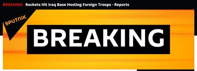 NÓNG: Căn cứ quân sự có nhiều lính Mỹ bị tấn công dồn dập - Bagdad dậy sóng, báo động khẩn cấp - Ảnh 5.