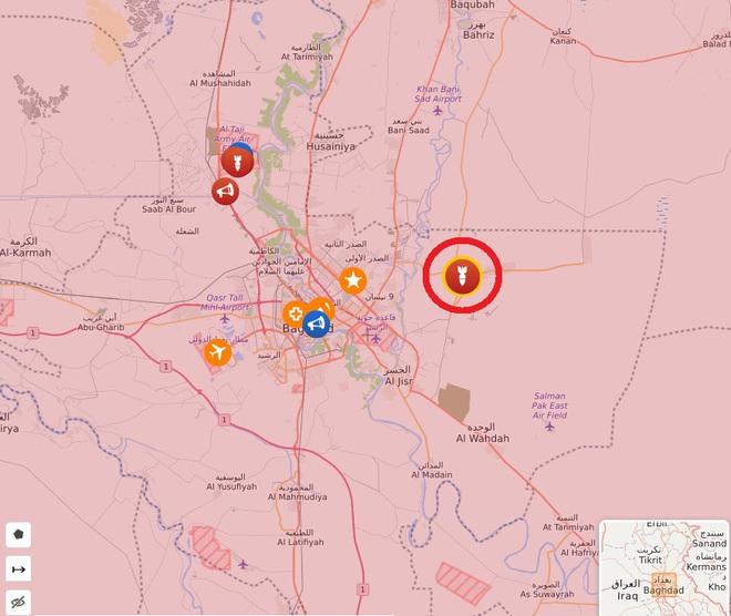 NÓNG: Căn cứ quân sự có nhiều lính Mỹ bị tấn công dồn dập - Bagdad dậy sóng, báo động khẩn cấp - Ảnh 2.