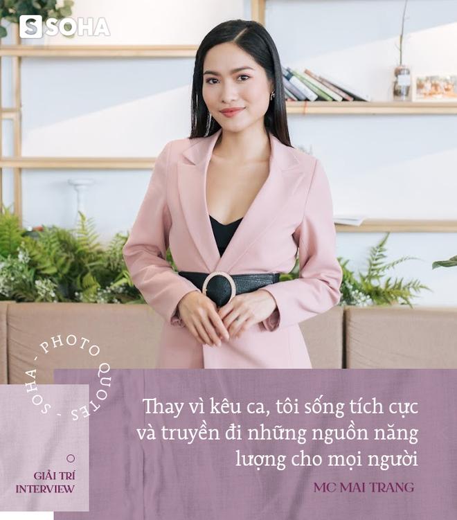 MC Mai Trang VTV: Tôi hụt hẫng, trống rỗng khi hoàn thành mục tiêu xây nhà, mua xe hơi - Ảnh 3.