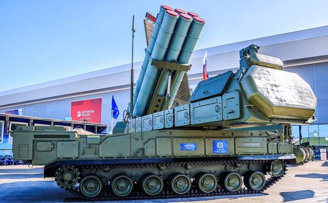 Tên lửa phòng không Buk-M3 lần đầu tham gia lễ duyệt binh Ngày Chiến thắng 9/5