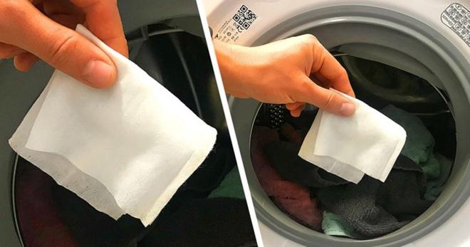 Công dụng tuyệt vời của việc bỏ khăn ướt vào máy giặt không phải bà nội trợ đảm nào cũng biết - Ảnh 3.