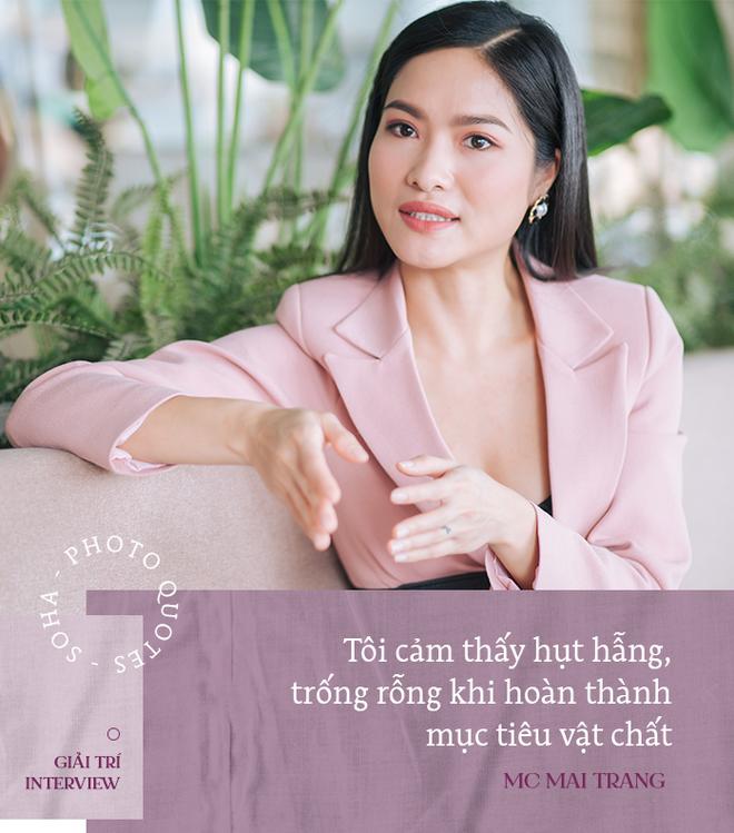 MC Mai Trang VTV: Tôi hụt hẫng, trống rỗng khi hoàn thành mục tiêu xây nhà, mua xe hơi - Ảnh 6.