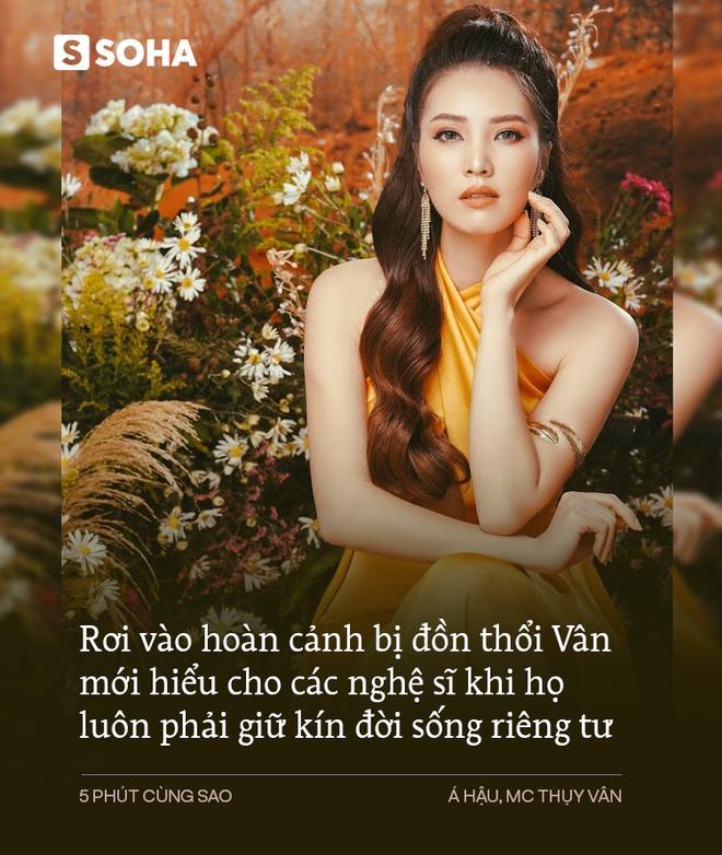 Á hậu Thụy Vân: Lý do gắn bó 13 năm với Đài VTV và cách sống khiến mọi người ngạc nhiên, đồn bỏ chồng - Ảnh 7.