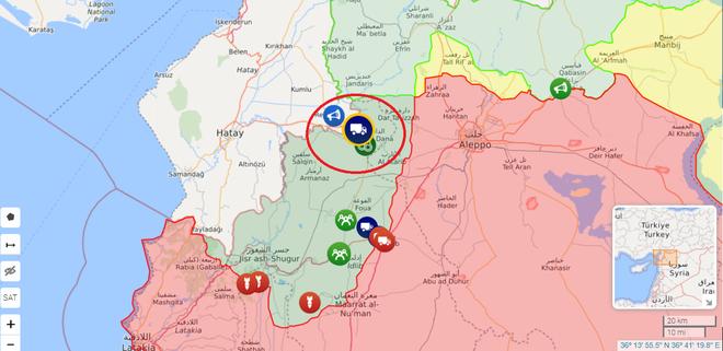 Nga ra tuyên bố đanh thép, điều máy bay yểm trợ QĐ Syria tiến về tử địa Idlib - Xe quân sự TNK rầm rập tiến sang Syria - Ảnh 1.