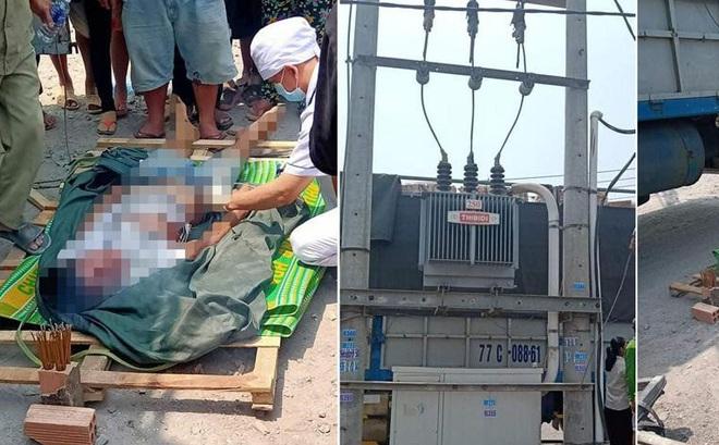 Leo lên thùng xe tải cuốn tấm bạt, 1 người bị điện giật rơi xuống đất tử vong ở Đồng Nai