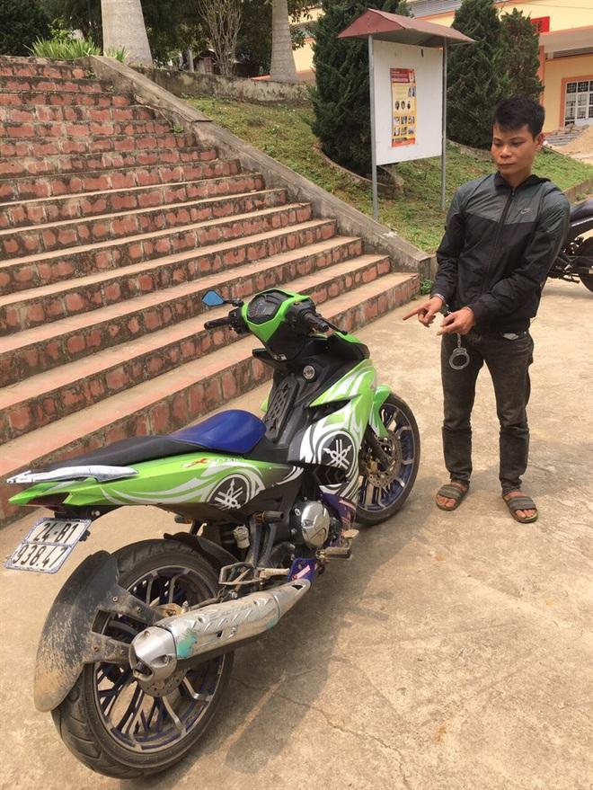 Kế điệu hổ ly sơn để trộm xe máy Exciter của gã trai  - Ảnh 1.