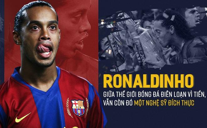 """Covid-19 lây nhiễm virus, còn Ronaldinho vào tù vẫn """"truyền nhiễm"""" nụ cười đầy hạnh phúc"""