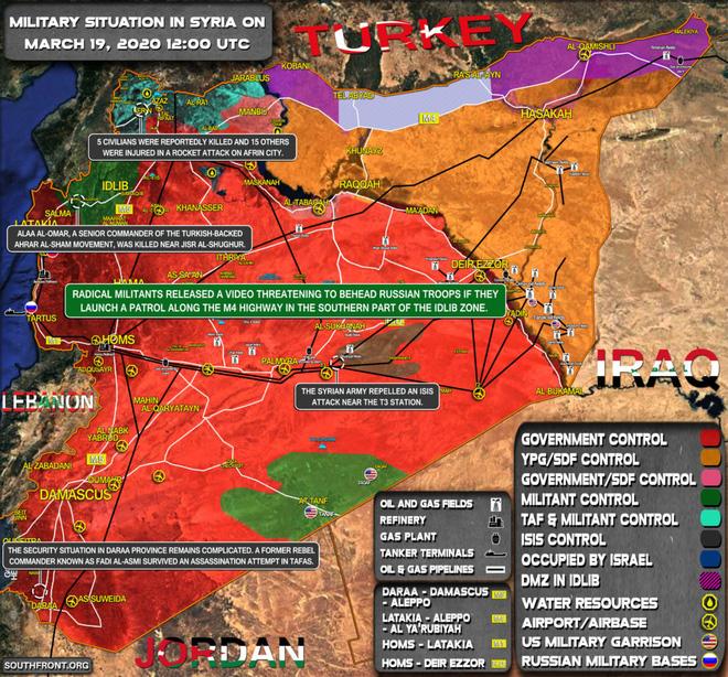 QĐ Syria bao vây căn cứ Thổ Nhĩ Kỳ ở tây Hama;  - Ảnh 1.