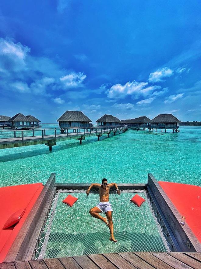 Hồ Ngọc Hà mặc bikini nóng bỏng tại Maldives: Xin được gầy để khỏi hấp dẫn ai - Ảnh 6.