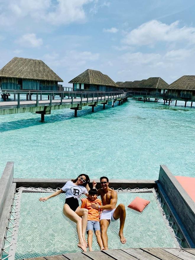 Hồ Ngọc Hà mặc bikini nóng bỏng tại Maldives: Xin được gầy để khỏi hấp dẫn ai - Ảnh 8.
