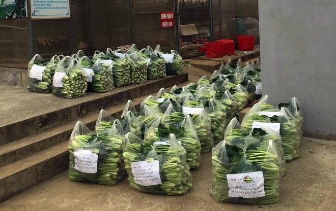 Chủ doanh nghiệp ở Lai Châu gửi hàng tấn rau ủng hộ người dân khu cách ly dịch Covid-19 ở Hà Nội - Ảnh 2.
