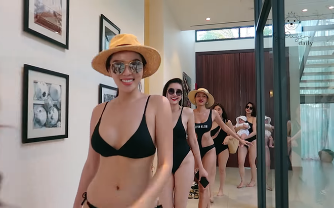 """Hoa hậu Kỳ Duyên bốc lửa trong chuyến du lịch """"5 sao"""", khán giả phát hiện điều bất ngờ"""