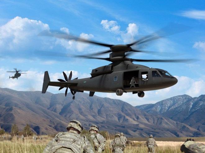 Mỹ trình làng trực thăng rất dị, vượt xa cá sấu Ka-52 Nga - Ảnh 12.