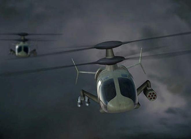 Mỹ trình làng trực thăng rất dị, vượt xa cá sấu Ka-52 Nga - Ảnh 16.
