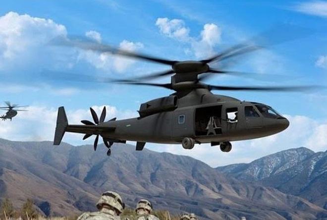 Mỹ trình làng trực thăng rất dị, vượt xa cá sấu Ka-52 Nga - Ảnh 4.