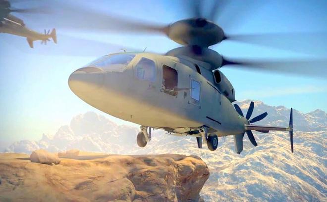 """Mỹ trình làng trực thăng rất """"dị"""", vượt xa """"cá sấu"""" Ka-52 Nga"""