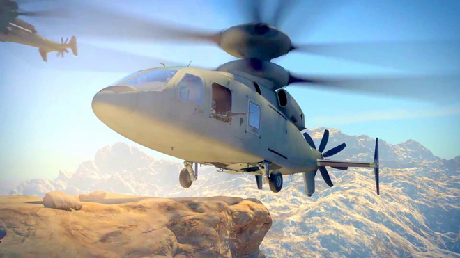 Mỹ trình làng trực thăng rất dị, vượt xa cá sấu Ka-52 Nga - Ảnh 8.
