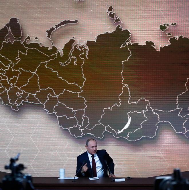 Tổng thống Putin và chiến lược chuyển mình từ Đại Âu sang Đại Á: Từ biệt châu Âu, gấu Nga là phải gặp rồng Trung Quốc? - Ảnh 1.