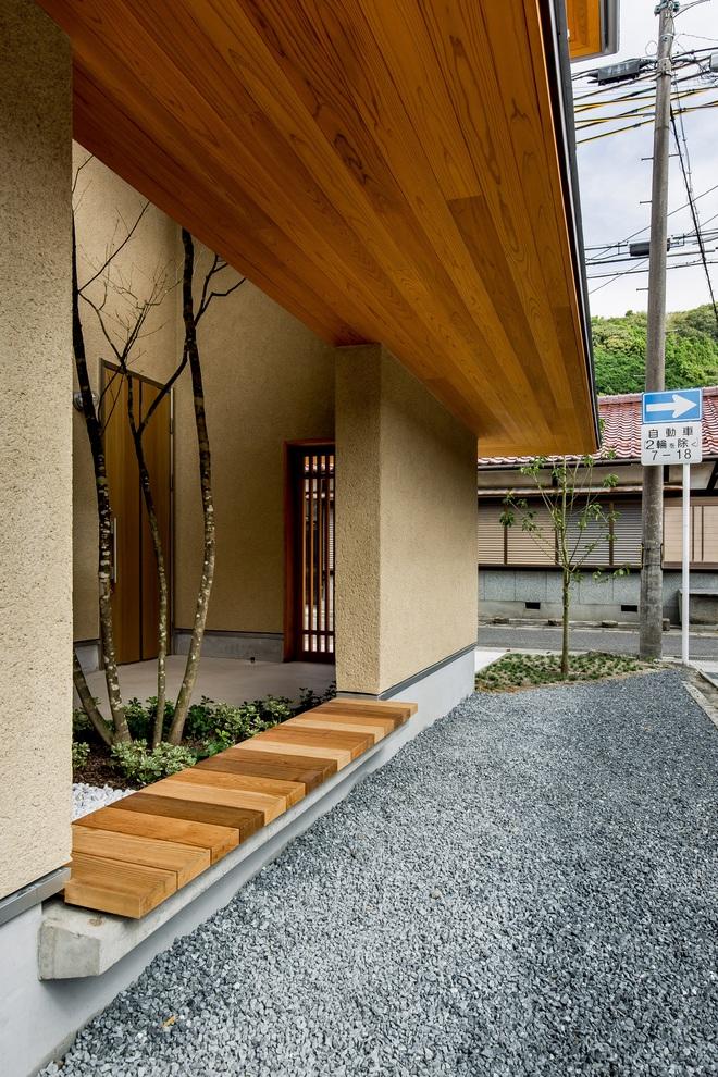 Ngôi nhà bình yên đến nao lòng với khoảng sân vườn thiết kế nghệ thuật đẹp như tranh vẽ ở Nhật - Ảnh 6.