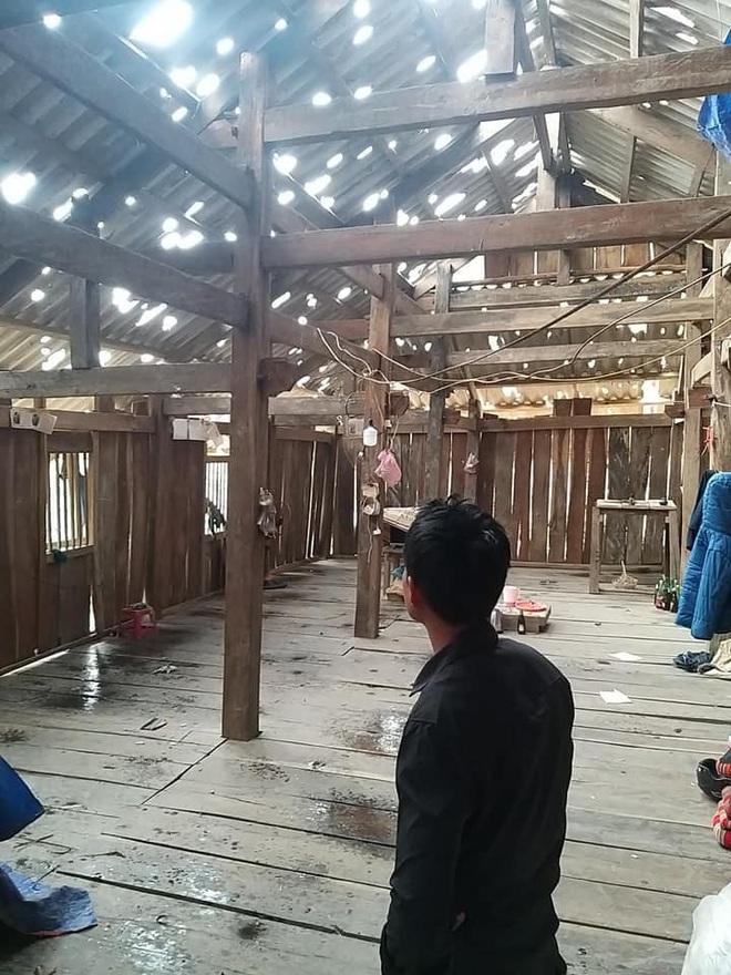 Mưa đá viên to bằng cái bát con làm thủng 500 mái nhà, mận rơi đầy gốc ở Mộc Châu - Ảnh 3.