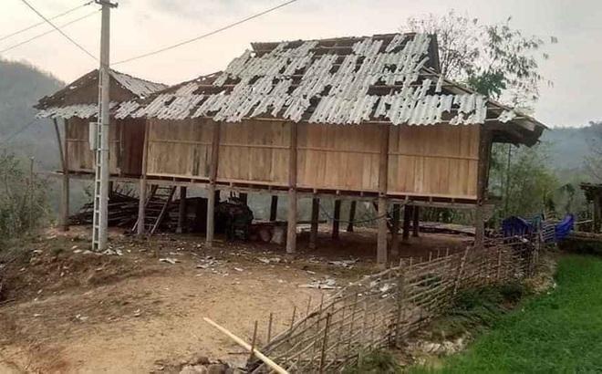 Mưa đá viên to bằng cái bát con làm thủng 500 mái nhà, mận rơi đầy gốc ở Mộc Châu