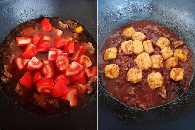 Bò om cà chua mềm ngon lạ miệng cho bữa tối hao cơm - Ảnh 4.