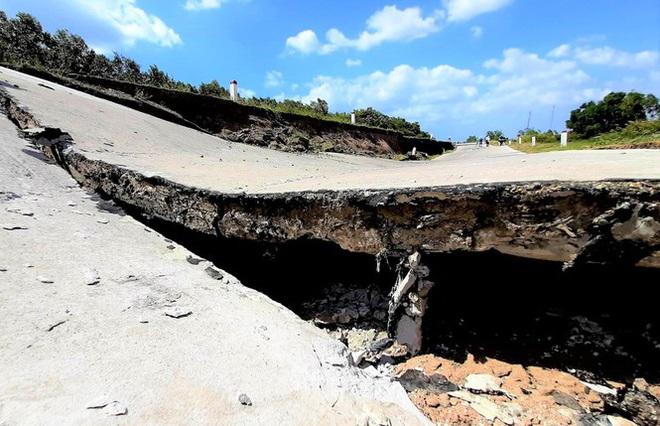 Sụt lún kinh hoàng vùng ngọt hoá Cà Mau - Ảnh 6.