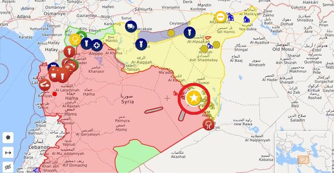 Su-35S hộ tống BTQP Nga rời căn cứ Khmeimim vài giờ trước khi bị tập kích - Mỹ đưa Patriot áp sát biên giới Syria - Ảnh 1.