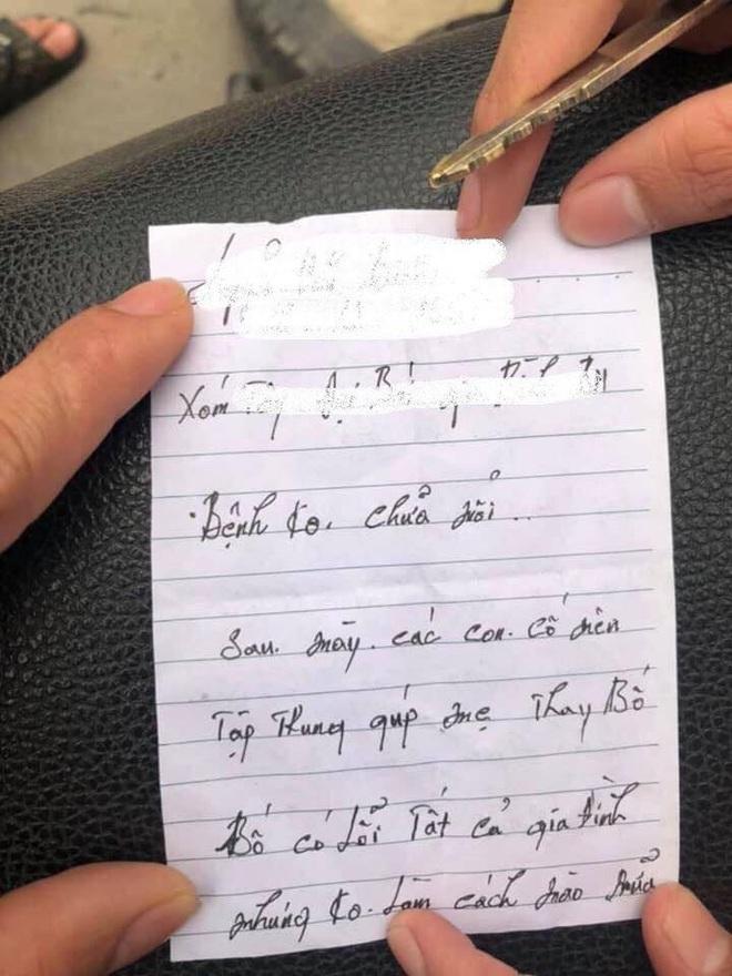 Người đàn ông lao đầu vào ô tô tự tử bất thành, bức thư giấu trong áo gây xúc động - Ảnh 2.