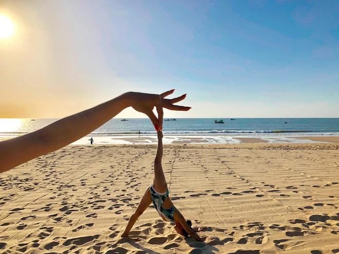 Bộ ảnh tập Yoga vòng quanh thế giới tuyệt đẹp, danh tính của nhân vật chính còn gây bất ngờ hơn - Ảnh 7.