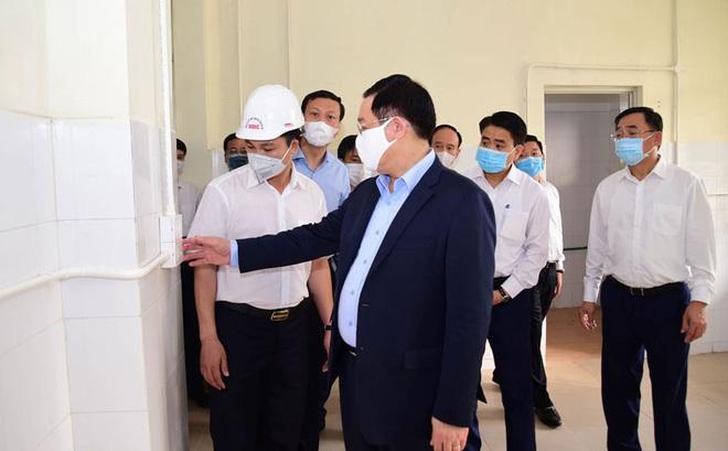 Bí thư Thành uỷ Hà Nội: Sẵn sàng kích hoạt Bệnh viện dã chiến Mê Linh để khám, điều trị Covid-19