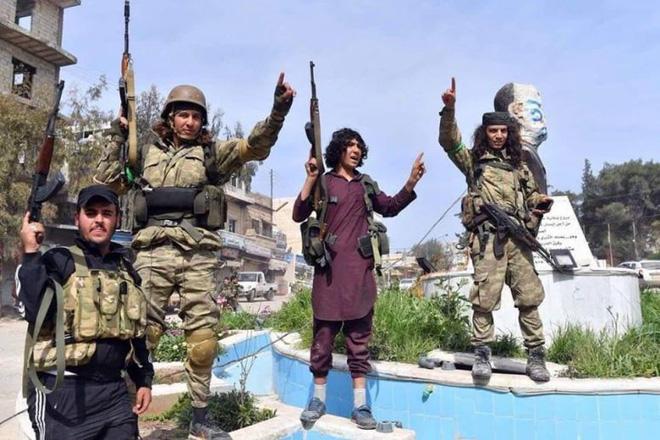 Chiến sự Syria đột ngột nóng, bão lửa đang giật tung Idlib - Liên quân Saudi dồn dập tấn công vào Al-Jaw - Ảnh 1.