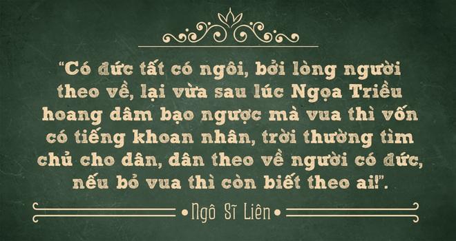 Vị vua sáng chói của nước Việt: Sét đánh thành chữ, thuận trời - người lên ngôi hoàng đế - Ảnh 5.