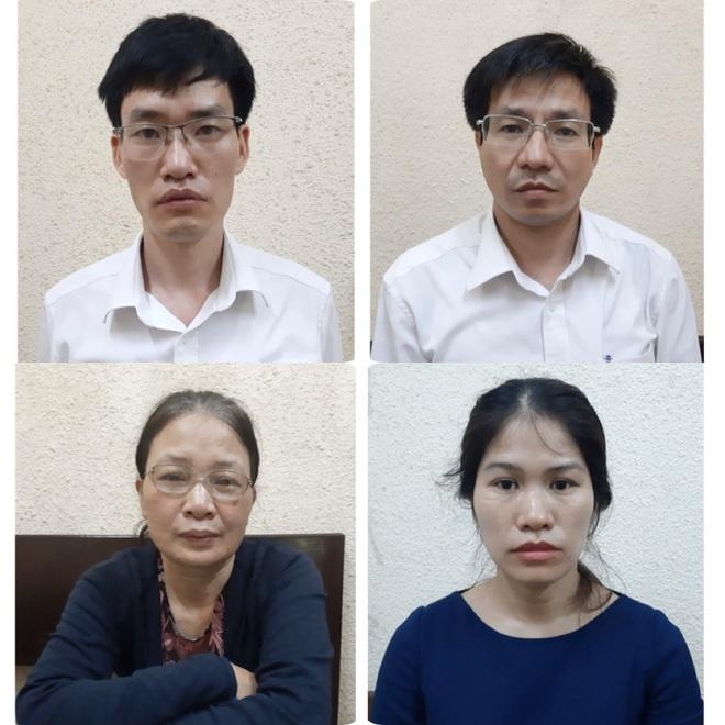 Bắt tạm giam 3 cán bộ Tổng cục Hải quan, 1 nữ phó giám đốc của Bộ Tài nguyên và Môi trường - Ảnh 1.