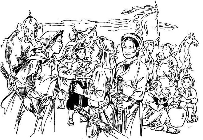 Hai chị em dòng dõi Vua Hùng, làm nên cuộc lật đổ trời long đất lở trong sử Việt - Ảnh 4.