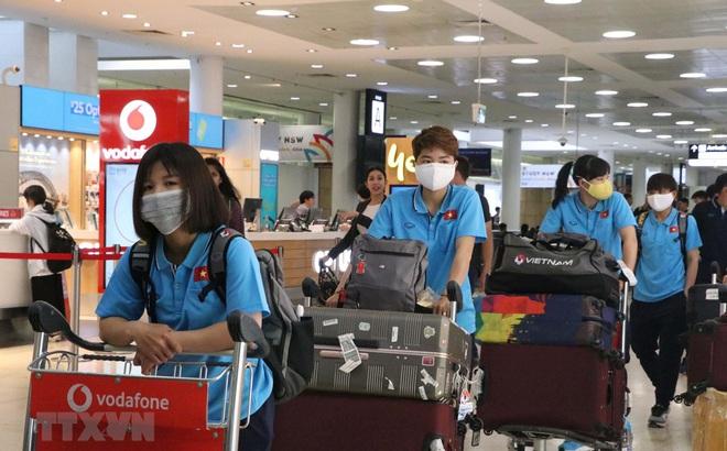Tuyển nữ Việt Nam đến Australia, sẵn sàng cho trận lượt đi play-off