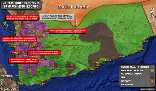 Saudi hứng chịu cuộc tập kích tên lửa lớn chưa từng có trong CT Yemen - Thổ nã pháo hủy diệt vị trí QĐ Syria - Ảnh 1.