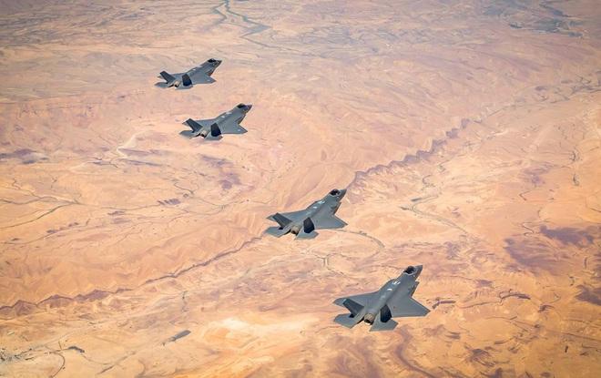 Tiêm kích F-35 Mỹ - Israel bất ngờ xung trận giữa tâm bão: Iran bị đưa vào tầm ngắm? - Ảnh 1.
