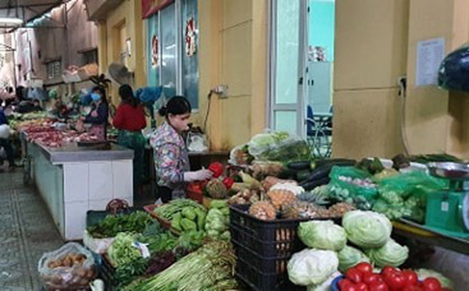Thị trường sáng 31-3: Hàng hóa phong phú, giá cả ổn định