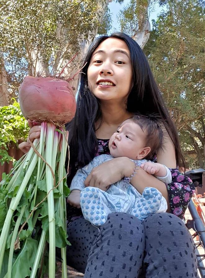 Mê vườn, người phụ nữ 8X chuyển từ thành phố về mảnh vườn rộng 2000m2 ở ngoại ô để tận hưởng hạnh phúc - ảnh 10