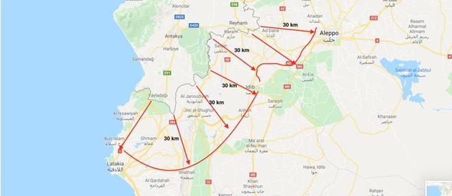 Quyết chiến vì vùng đệm sâu 30 km trong lãnh thổ Syria: 24 giờ cân não của Nga-Thổ? - Ảnh 1.