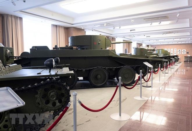 [Photo] Nga: Bảo tàng vũ khí, thiết bị quân sự độc đáo ở Yekaterinburg - ảnh 2