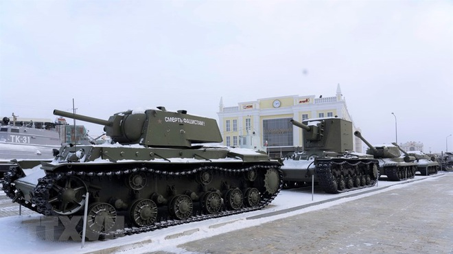 [Photo] Nga: Bảo tàng vũ khí, thiết bị quân sự độc đáo ở Yekaterinburg - ảnh 5
