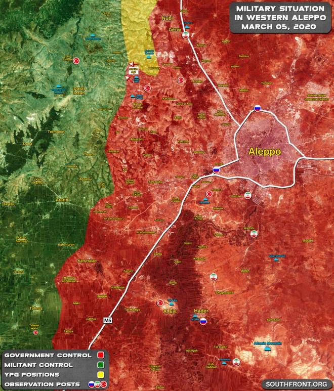 QĐ Syria quyết chiến trên cả 3 mặt trận Bắc - Trung - Nam, tên lửa BUK-M2 phản kích - UAV Thổ Nhĩ Kỳ rụng như sung - Ảnh 1.