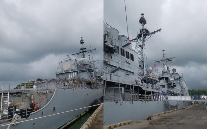 ẢNH: Cận cảnh tàu tuần dương khổng lồ của Hải quân Mỹ vừa cập cảng Đà Nẵng - Ảnh 10.