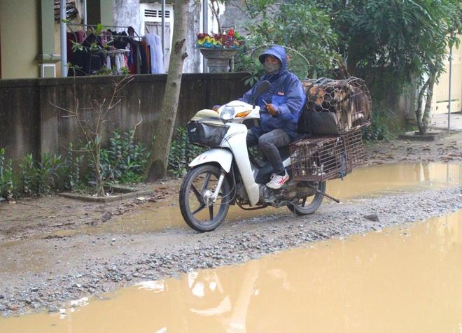 Chằng chịt ổ voi, ổ gà trên con đường đau khổ ở huyện nông thôn mới - Ảnh 9.